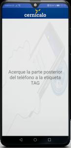 APP Cernícalo lectura de NFC