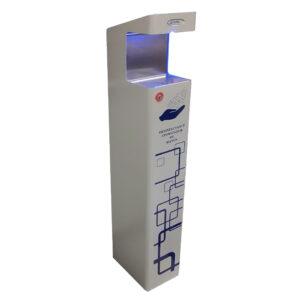 Nebulizador desinfectante para manos automático